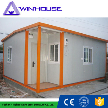 elegant building low cost luxury modern modular two bedroom sandwich panel prefab house
