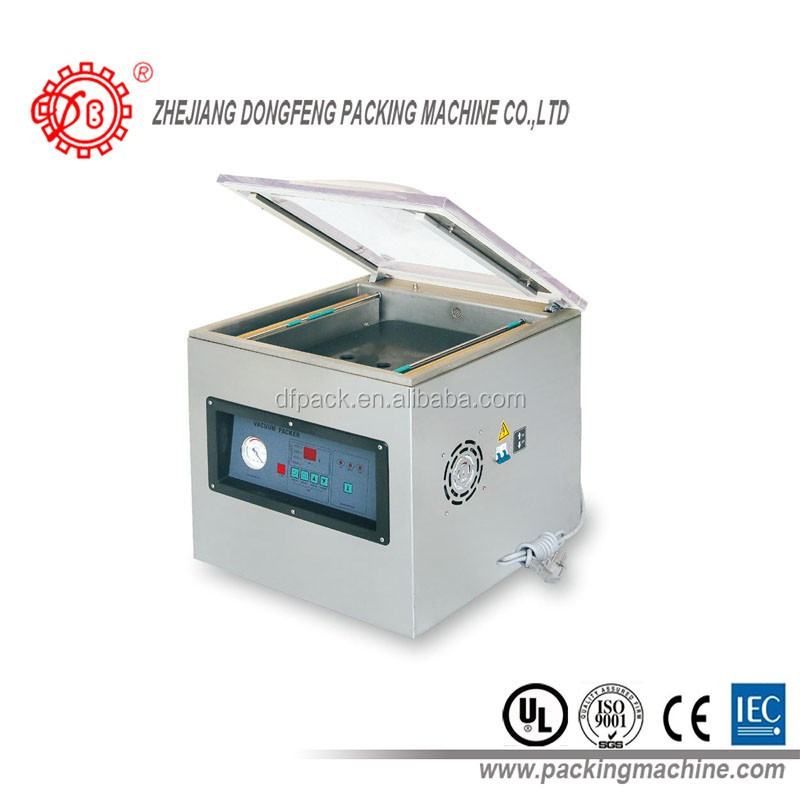 2016 Forming sealing sea food meat packaging DZ-400 vacuum packing machine