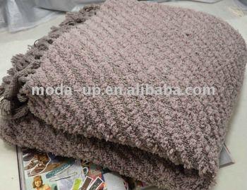 Knitting Pattern Travel Blanket : Knitted Blanket For Home/travel/picnic - Buy Picnic ...