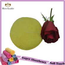High Quality Round Shape Microfiber Wax Applicator Pads