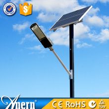 60W Latest Solar Lamp Post With Toughened Glass Lampshade IP66 Sale