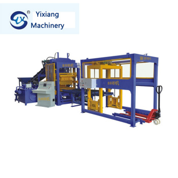 cement sand mixed batching brick making machine