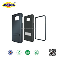 3 in1 Rugged Amor Soft Silicone Outer Slim Protective Case for Samsung Galaxy Note 5 Heavy Duty Combo Case
