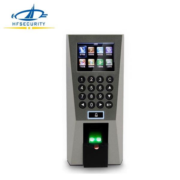 F18 RFID Keypad Outdoor ZKsoftware Fingerprint Access Control F18