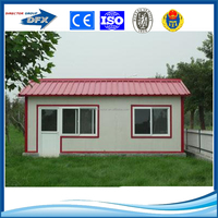 Light steel prefab kit house room