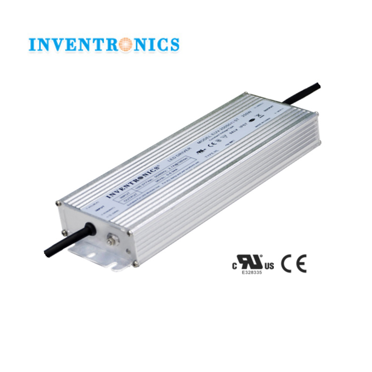 Inventronics 250W 24Vdc Constant Voltage 0-10.41A IP67 Waterproof LED Lighting Lamp Driver High Power Supply EUV-250S024ST