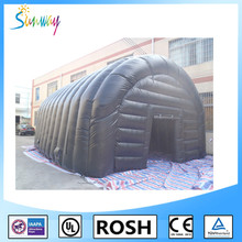 SUNWAY Waterproof air tight inflatable military tent/air tight medical tent/air tight army medical tent for disaster for sale