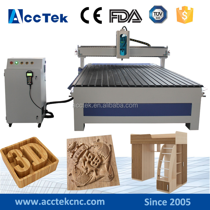 ACCTEK good price cheap cnc machinery china woodworking for funiture