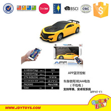 Smart mobile phone bluetooth app rc remote control car toys