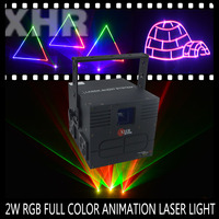 XHR Mini 2000mw Full Color RGB Stage Home Party Laser Animation Laser Light