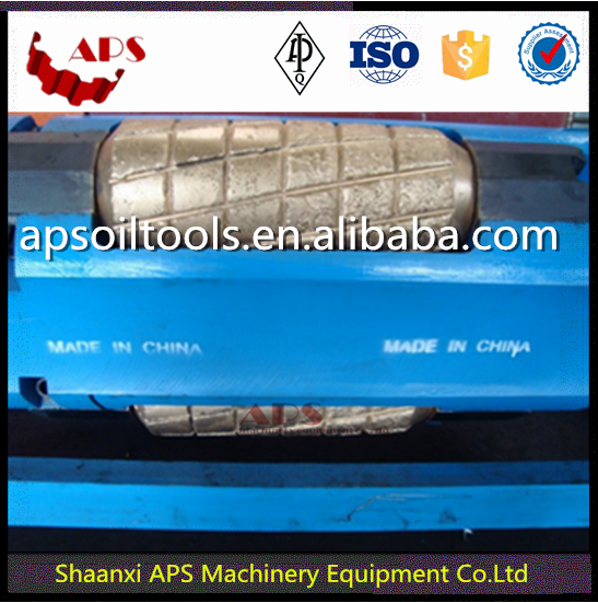 Roller Reamer against API 7-1 standard in Oil and Gas/Oilfield Type T F B cutters for Downhole tools and Bottom hole assembly