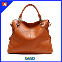 Genuine cow leather handbag for women tote shoulder crossbody small large capacity travel bag fashion designer vintage wholesale