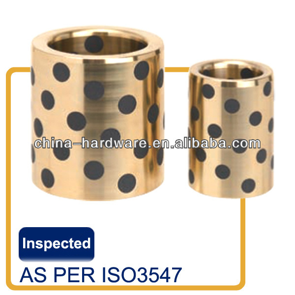 2014 March new bronze mold bushing list,Brass Alloy with Embedded Lubricant Type