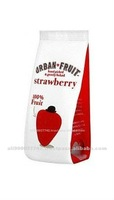 Dried Fruits Packaging Quad Seal Stand Up Bags