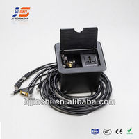 JS-440 Multimedia Cable Cubby for Conference System