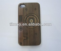 High Quality wooden case for iphone4 4s bamboo case