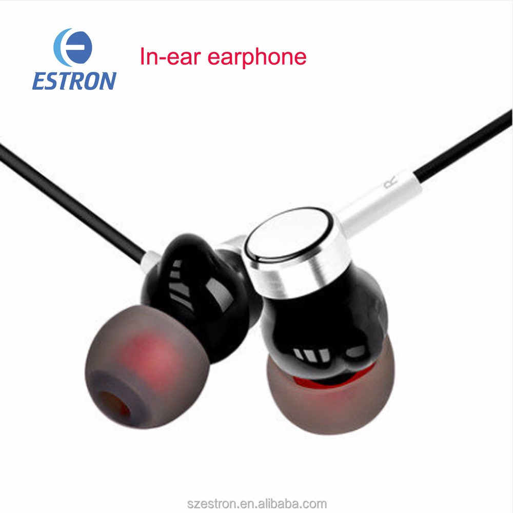 HiFi Dual Driver Earphone Wired Stereo Sport Silicone Earbuds with Mic Digital In Ear Earpiece