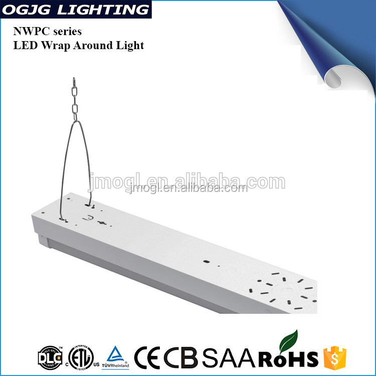 5 Years Warranty Mounted Suspended Batten Lighting Hanging Ceiling Led Tube Linear Pendant Light Fixture