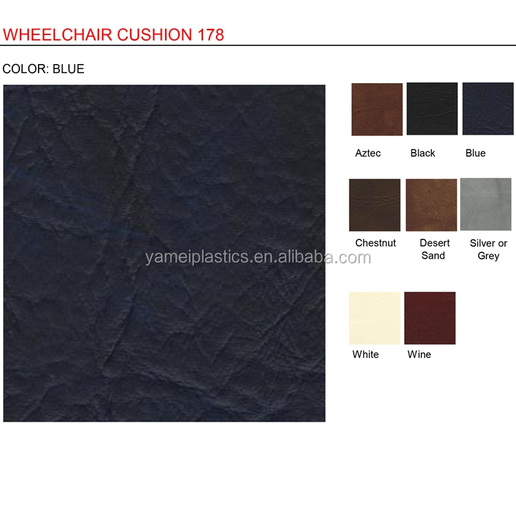 pvc synthetic leather for car interior and car seat cover fabric