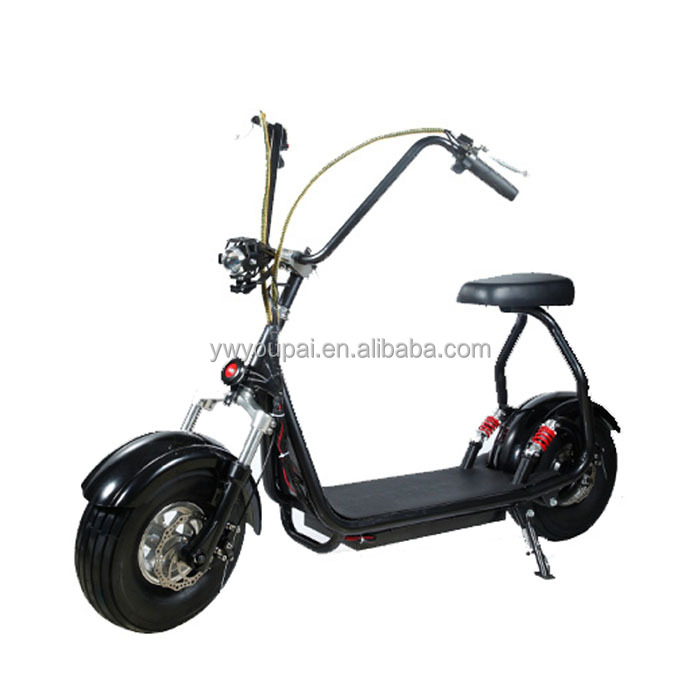 500w mini harley citycoco electric scooter with removable lithium battery electric scooter
