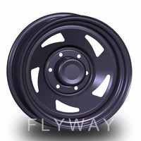 Flyway FX006 4x4 Steel Wheel rim 15 16 17inch For Offroad