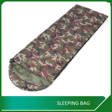 Outdoor military camouflage envelop sleeping bag manufacturer