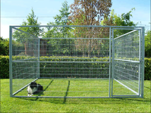 Mesh Full Dog Run Panels large outdoor galvanized expandable dog fence/dog run fence panels
