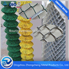 Diamond hole wire mesh/PVC coated chain link fencing factory