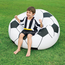 Round Shape Inflatable Soccer Sofa ,Round Shape Sofa Chair, Football Shape Inflatable Sofa Indoor Furniture