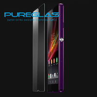 Pureglas mobile screen protector cutting machine make tempered glass screen film for xperia z