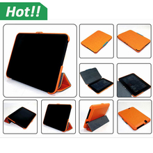 Orange Fashion stand case cover for Amazon kindle fire hd 7 case magnetic funtion