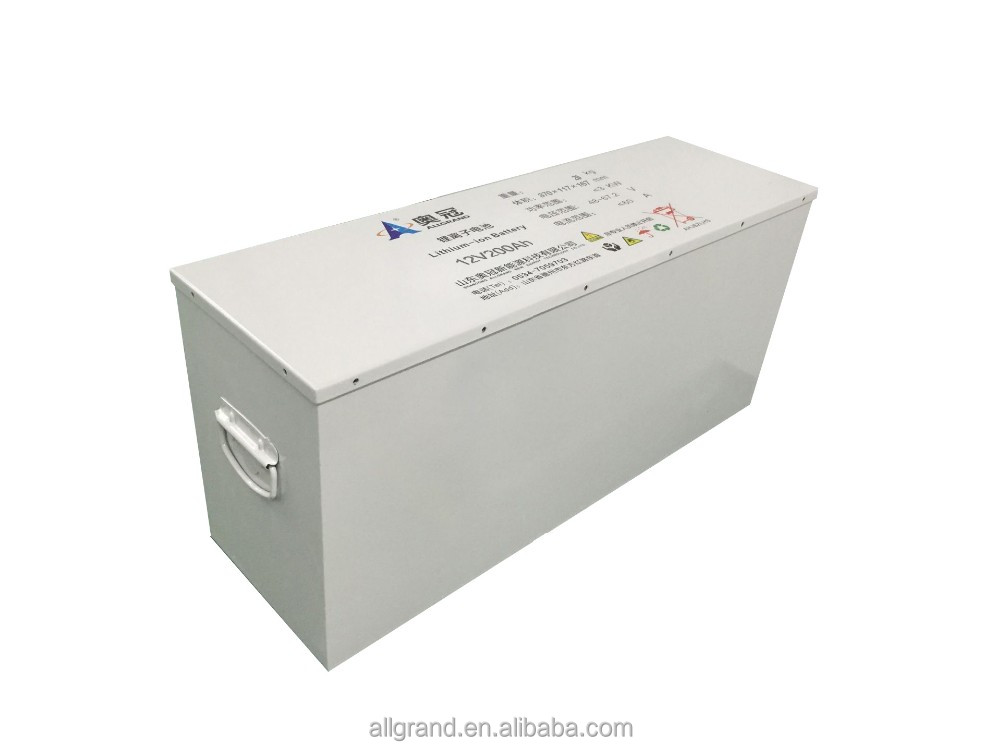 12V LiFePo4 18650 NCM Battery 12V200Ah for Car Solar and UPS system
