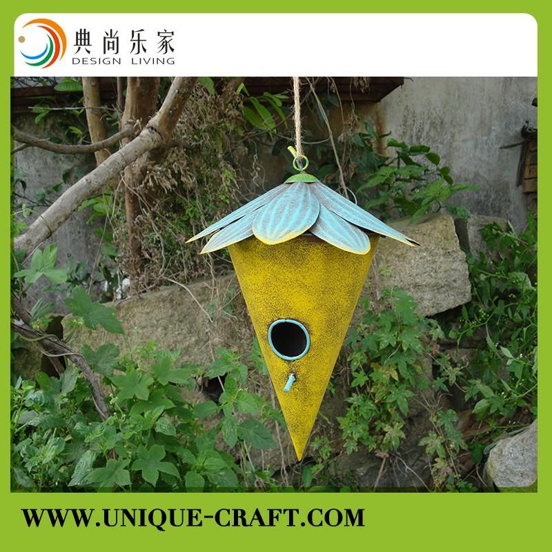 Hand Painted Metal Decorative Hanging Bird House Buy