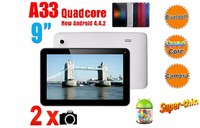 cheap Tablet PC Factory 9 inch Quad core 512MB+8G Android 4.4 tablet pc android in me