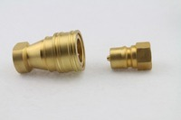 Brass Pioneer Hydrolic Quick Couplings for Tubing Plug