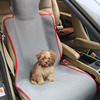 Factory direct sale customized color car seat cushion cover with buckle for dogs