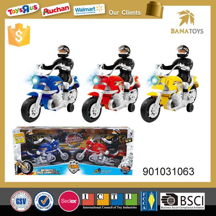 Free shipping Toy motorcycles with light