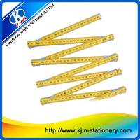 Promotion cheap 200cm folding wood ruler with custom printing