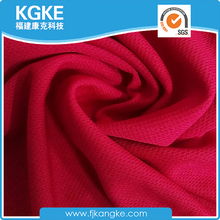 Warp knit 100 polyester fabric textile with various solid color