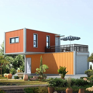Luxury Prefabricated 20ft Container House for Coffee Shop/Restaurant