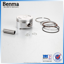 piston ring for gy6 motorcycle, most popular GY6-150 piston with top quality,