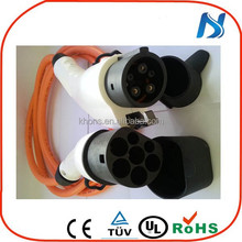 ev electric car type 2 to type 1 charging cable