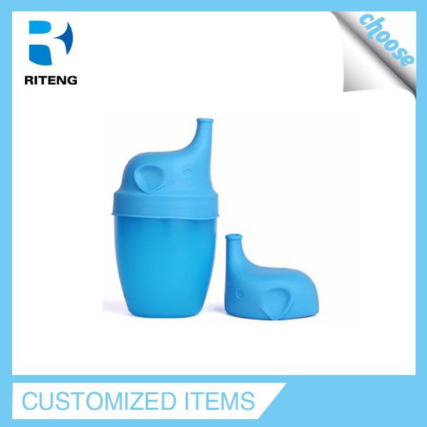 Wholesale spill proof bpa free silicone take and toss sippy cap for cups from China
