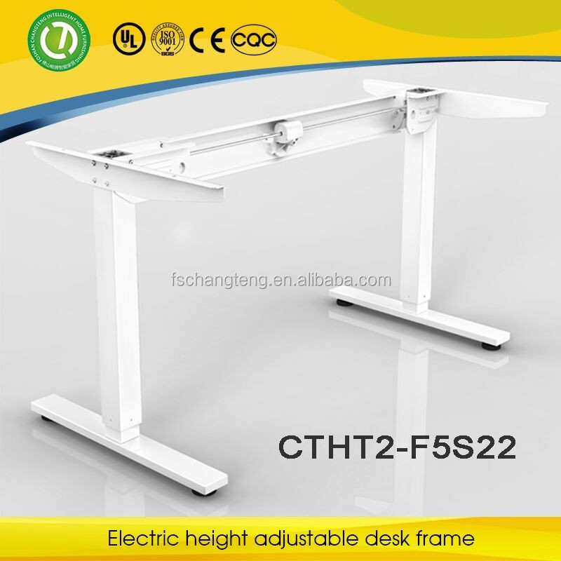 2016 Electric height adjustable office metal desk /table frame with one motor for sale