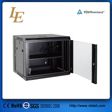 12U Wall Mounted Server Cabinet network rack with glass door locking