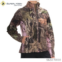 Women Outdoor Cloth Waterproof Camouflage Hunting Jacket