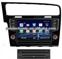 auto dvd gps navigation 3G bluetooth for VW GOLF7