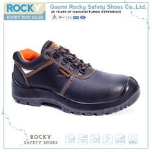 Light weight security guard steel toe safety shoes for workers