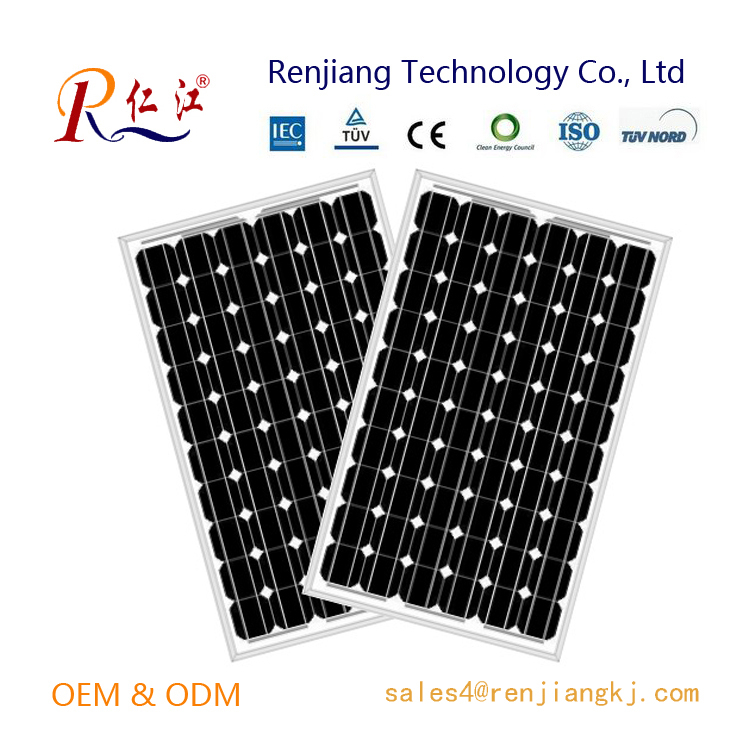 MCS approved 260w solar panel with solar power cell for Chile market