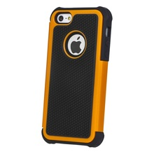 New Arrival Multicolor Touch Combo PC+Silicone Hybird Cellphone Case For iPhone 5 5G